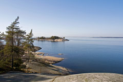 A view towards west in Porkkala cape - Last view 2021-02-24
