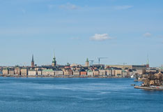 Stockholm skyline when arriving with ferry. Ahead you see Gamla Stan, the old town of Stockholm. - Last view 2021-02-24