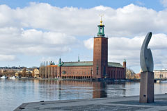Stockholm City Hall - Last view 2021-02-24