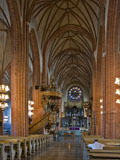An interior view of Storkyrkan church in Gamla Stan - Last view 2021-02-24