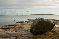 A  view towards the sea  in Haukilahti beach, Espoo-Rantaraitti - Last view 2021-02-24
