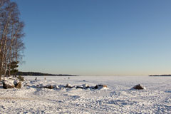A sunny day in Haukilahti beach - Last view 2020-12-02