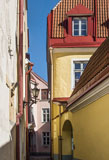 A narrow alley in Toompea hill - Last view 2021-02-24