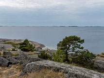 View towards west from Kråkudden in Hanko - Last view 2020-12-02