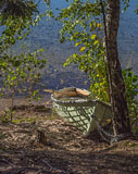 This boat was on the shore of Puujärvi lake in Karjalohja municipality - Last view 2021-02-24