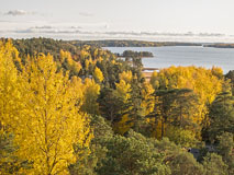 Autumnal view over Espoo Bay - Last view 2021-02-24