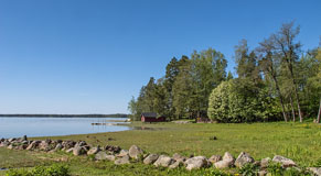 Spring in Makkarlahti Bay - Last view 2021-02-24