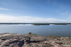Espoo Bay seen from Kasavuori rocky hill - Last view 2021-02-24